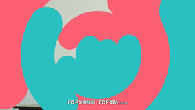 FCPX模板 社交媒体短视频彩色形状转场过渡fcpx模板下载