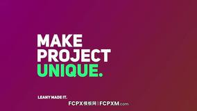 FCPX模板 创意全屏文字动画排版社交媒体fcp模板下载