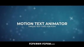 FCPX模板 专业短视频动态标题fcpx模板下载