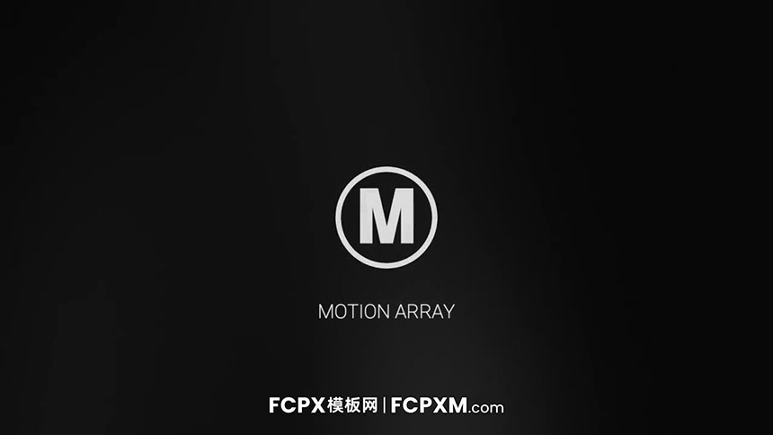 FCPX模板 优雅大气暗镜反射效果深色logo展示fcpx模板下载-FCPX模板网