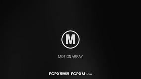 FCPX模板 优雅大气暗镜反射效果深色logo展示fcpx模板下载