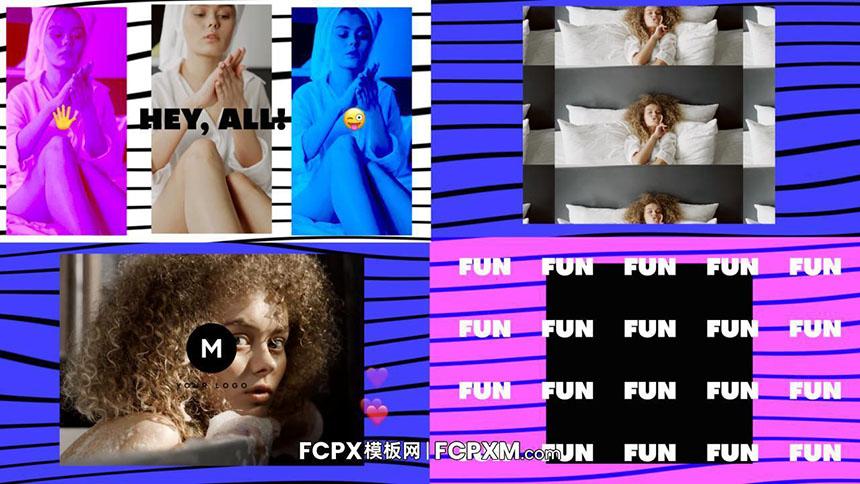 FCPX短视频模板 社交媒体YouTube开场介绍fcpx模板下载-FCPX模板网
