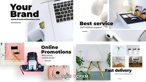 FCPX模板 清新产品促销主图视频fcpx广告模板下载