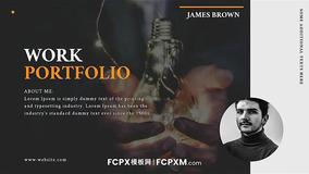 FCPX模板 高端大气个人摄影作品展视频宣传预告fcpx模板下载