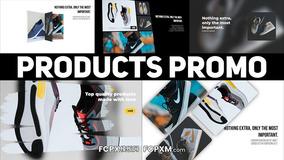 FCPX模板 创意时尚网络广告主图视频产品促销fcpx模板下载