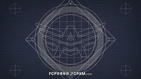 开场片头FCPX模板 几何图形动态logo展示fcpx模板下载