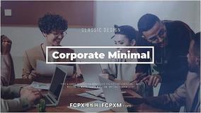 幻灯片FCPX模板 企业会员公司宣传片图文展示fcpx模板下载