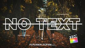 FCPX模板 快节奏旅行度假公司宣传短视频fcpx模板下载
