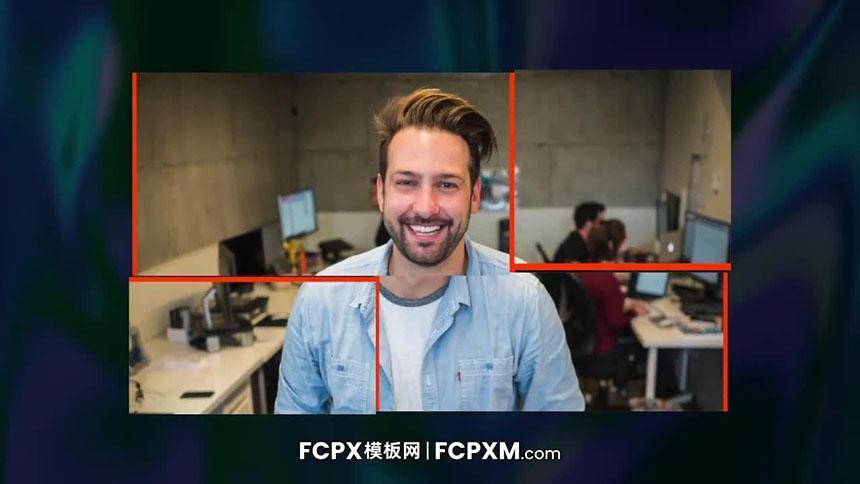 FCPX模板 时尚炫酷动态图文展示FCPX开场视频模板下载-FCPX模板网