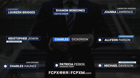 FCPX标题字幕模板 现代简约商务全屏标题视频模板下载