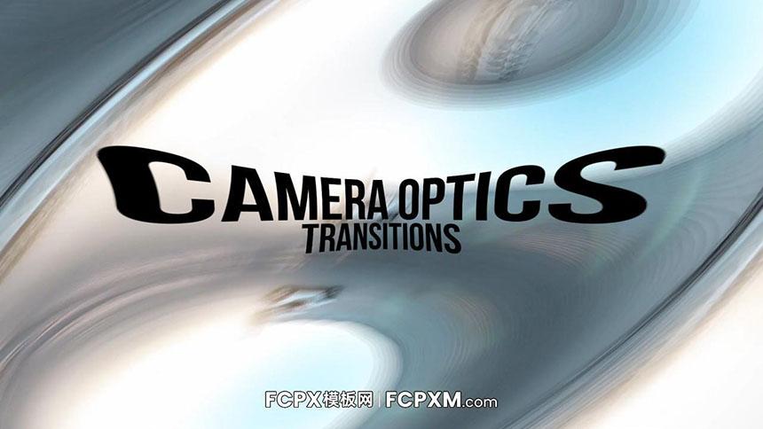 FCPX转场模板 相机光学特效转场视频模板下载过渡-FCPX模板网