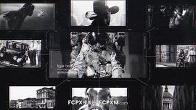 FCPX模板 炫酷高科技黑白侦探档案节目视频模板下载