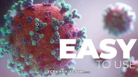 FCPX模板 新冠肺炎病毒防治新闻宣传视频fcpx模板下载