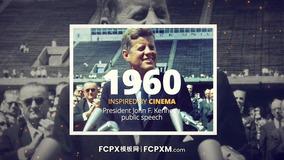 FCPX短视频模板 复古历史纪录片特效fcp模板下载