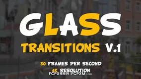 FCPX转场模板 液态玻璃特效转场过渡短视频模板下载
