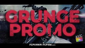 fcp模板 炫酷潮流动态大标题图文展示FCPX模板下载