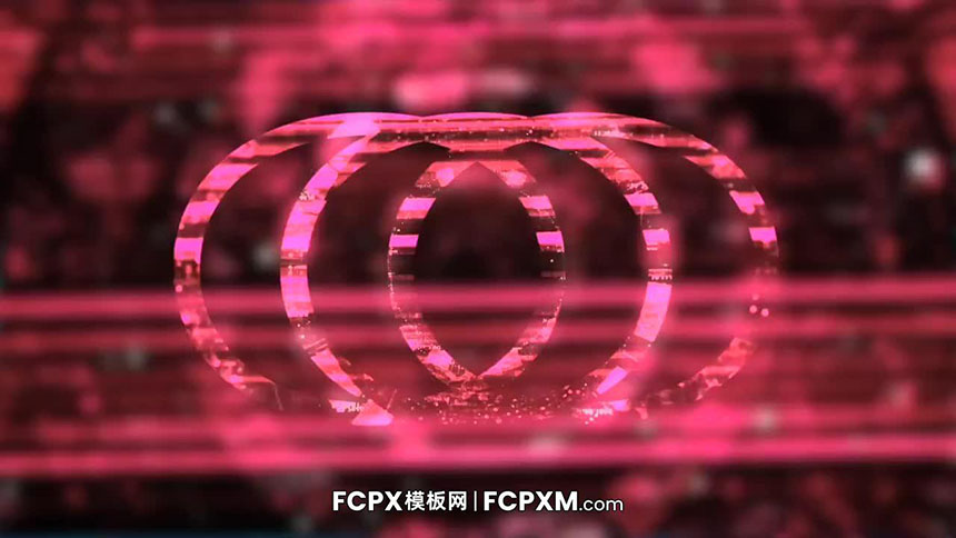 fcpx片头模板 数码科技科幻电影logo展示FCPX模板下载-FCPX模板网