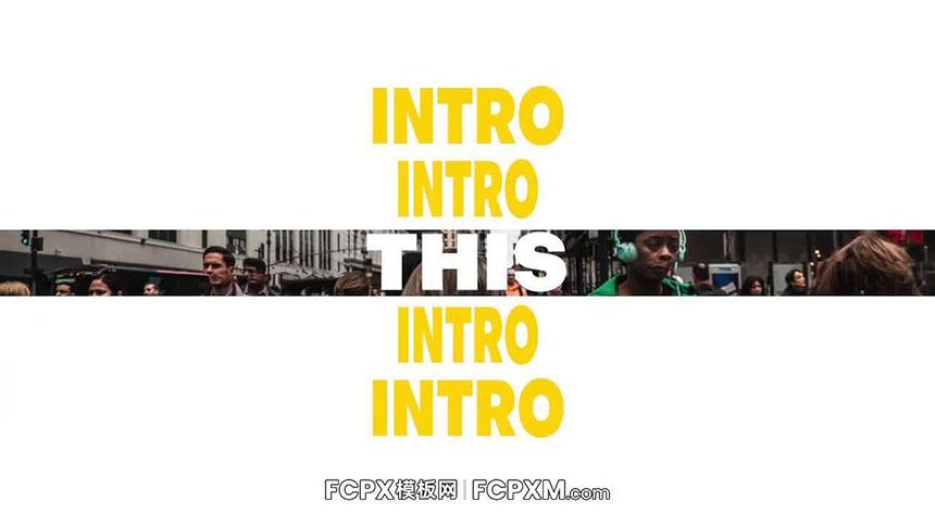 fcpx模板 炫酷时尚日常vlog图文展示fcp模板下载-FCPX模板网