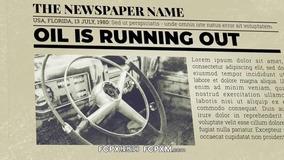 FCPX模板 复古报纸调查历史事件解说探秘节目模板下载