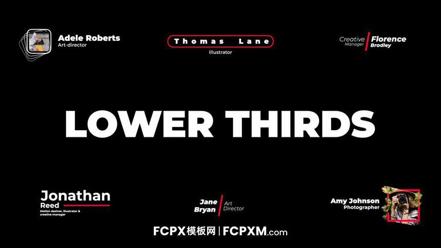 FCPX简约现代预告片短视频动态全屏标题模板下载-FCPX模板网