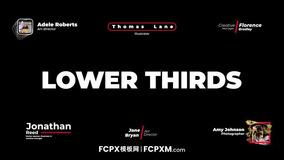 FCPX简约现代预告片短视频动态全屏标题模板下载