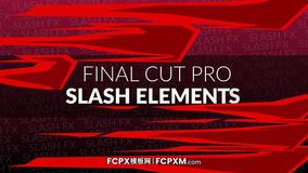 FCPX模板 手绘漫画复古线条穿梭模板下载