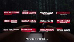 fcpx模板 创意时尚多功能动态标题字幕模板下载