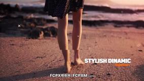 时尚动态宣传片短视频开场预告FCPX模板下载