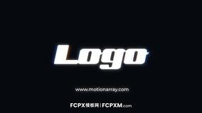 动感高科技数码闪烁特效logo展示FCP模板下载