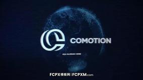 炫酷科技感数字接入信息化地球logo展示fcpx模板下载