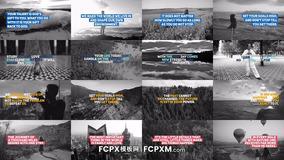 社交媒体短视频动态图形全屏标题FCPX模板下载