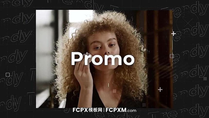 创意时尚时装化妆品广告宣传淘宝主图短视频FCPX模板下载-FCPX模板网