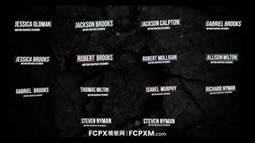 FCPX简约实用标题动画 FCP动态字幕条模板下载