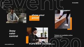 FCPX模板 活动宣传文字介绍FCPX幻灯片模板免费下载