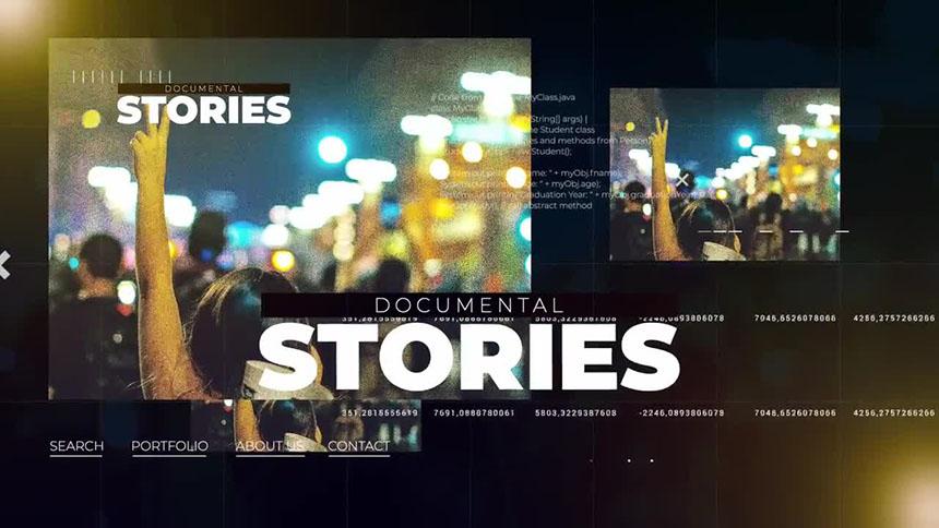 网络媒体活动新闻大事件视频宣传FCPX模板-FCPX模板网