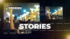 网络媒体活动新闻大事件视频宣传FCPX模板