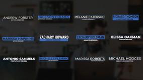 FCPX标题模板 12个蓝色简约多行字幕条fcp模板下载